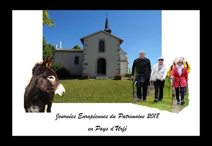 Journées du patrimoine 2018 - Découverte de Saint-Marcel d'Urfé à dos d'âne !