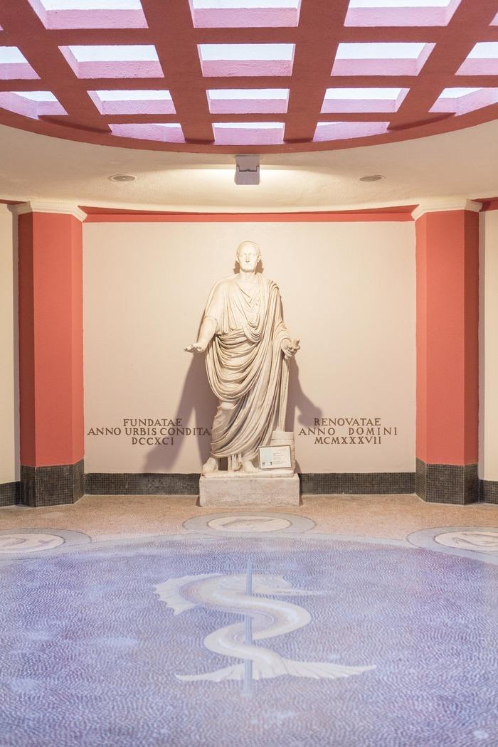 Journées du patrimoine 2018 - Découverte de vestiges antiques balnéaires
