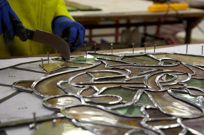 Journées du patrimoine 2018 - Découverte du chantier de restauration des vitraux de l'église du Dôme (Tombeau de Napoléon Ier)