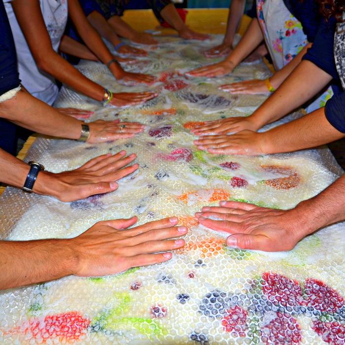 Journées du patrimoine 2018 - Découverte du feutrage artisanal de la laine