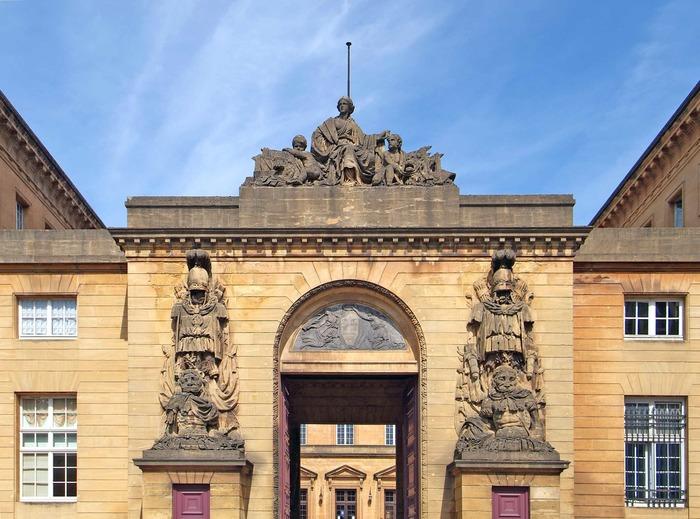 Journées du patrimoine 2018 - Découverte du siège de la justice de Metz, daté de la fin du XVIIIe siècle