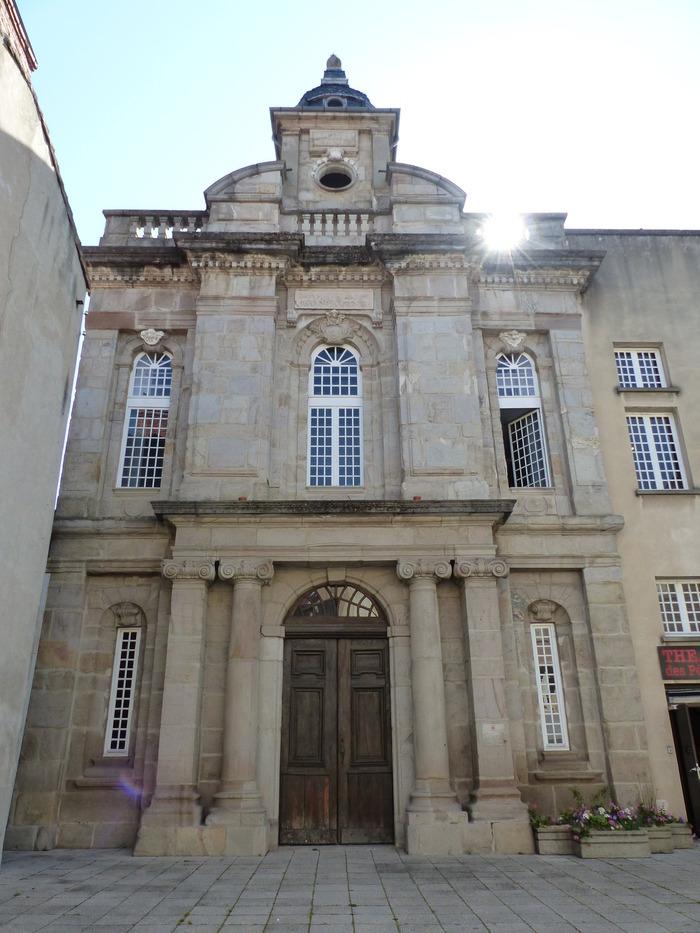 Journées du patrimoine 2017 - Découverte du Théâtre des Pénitents