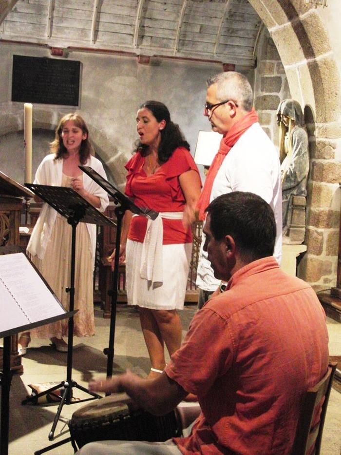 Journées du patrimoine 2018 - Découverte itinérante du patrimoine religieux d'Aix à travers le chant sacré.