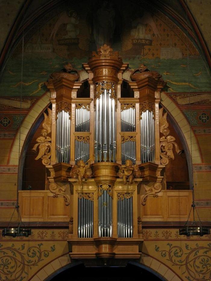 Journées du patrimoine 2018 - Découverte participative de l'orgue à l'église Notre-Dame