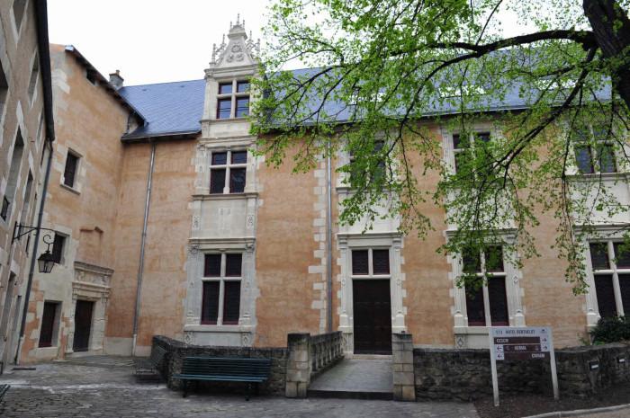 Journées du patrimoine 2018 - Visite libre de l'hôtel Berthelot, Centre d'études supérieures de civilisation médiévale, Université de Poitiers