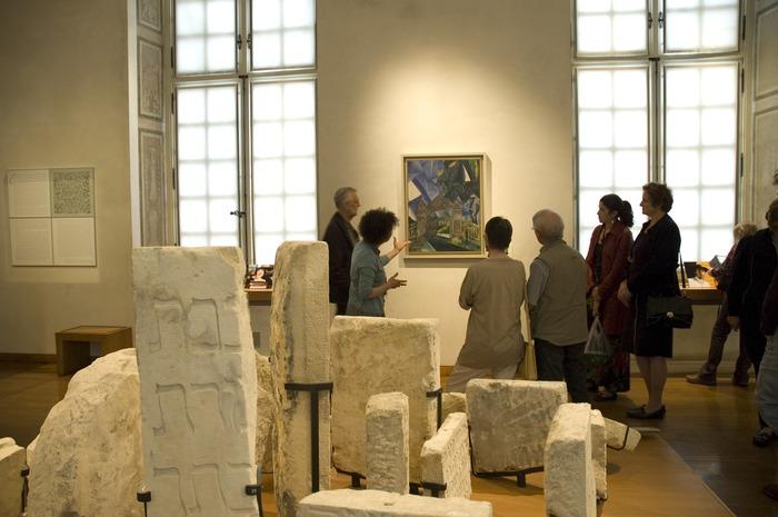 Crédits image : Photo Safia Benhaïm, c mahJ : Salle des juifs en France au Moyen Âge.