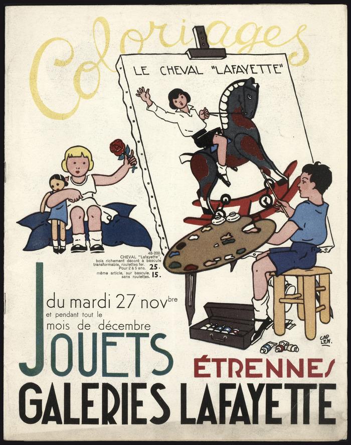 Crédits image : Copyright Archives Galeries Lafayette