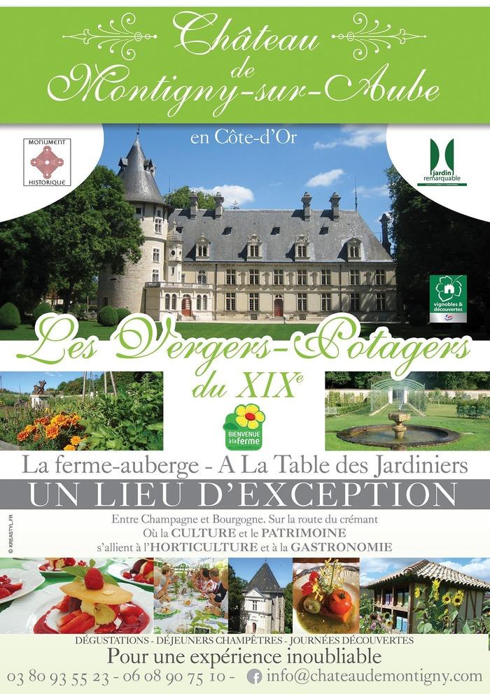 Journées du patrimoine 2018 - Découvrez les vergers-potagers, le parc et la chapelle Renaissance du Château de Montigny-sur-Aube