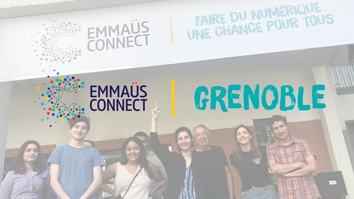 Découvrir l'inclusion numérique et l'association Emmaüs Connect