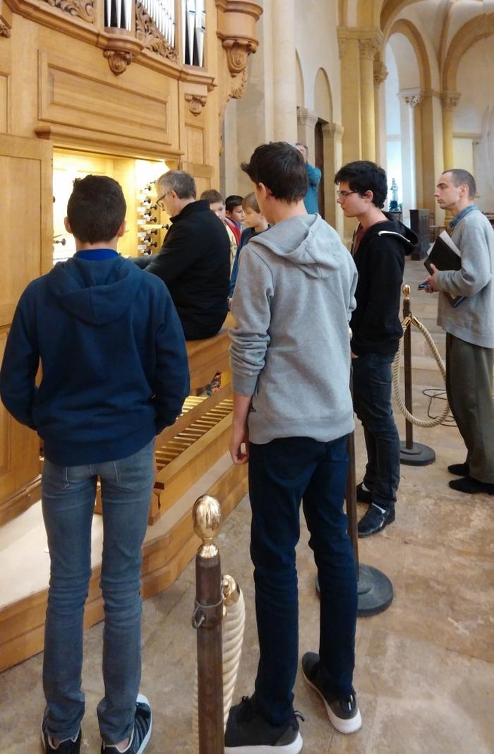 Journées du patrimoine 2018 - Découvrir l'orgue de Charolles