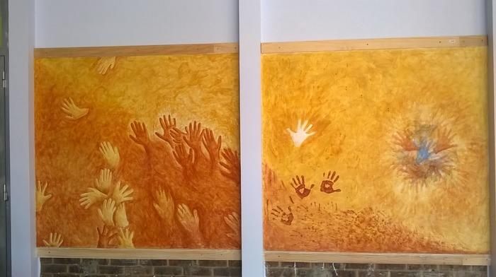 Journées du patrimoine 2018 - Découvrir la fresque en y prêtant ses mains