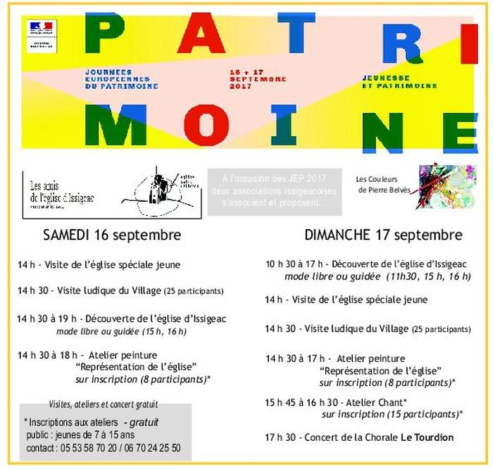 Journées du patrimoine 2017 - Découvrir le patrimoine vocal - Eglise Saint-Félicien