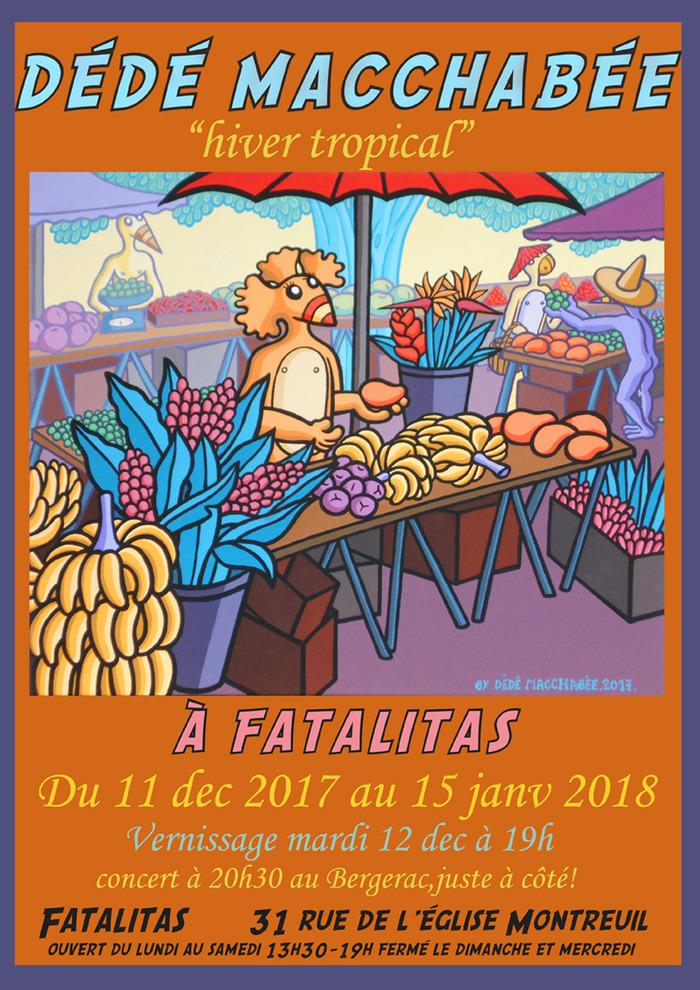 Dédé Macchabée expose à Montreuil!