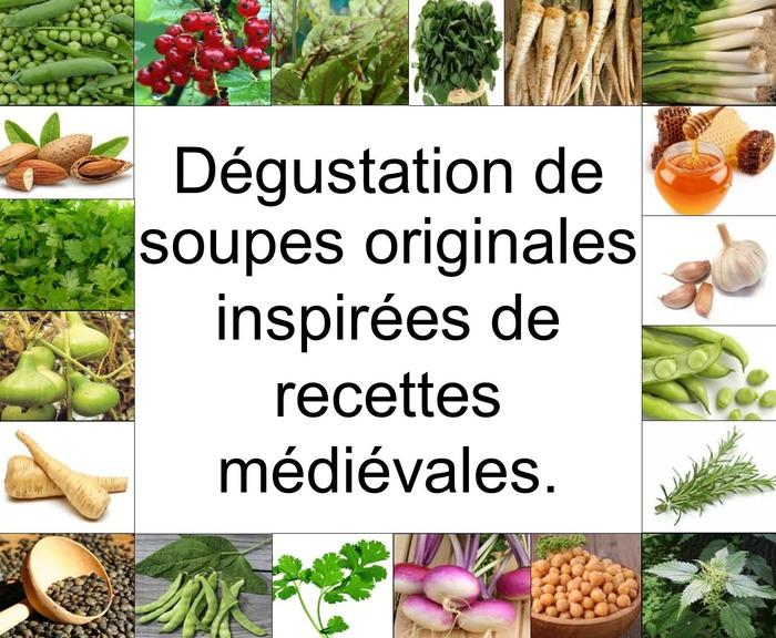 Journées du patrimoine 2018 - Dégustation de soupes médiévales