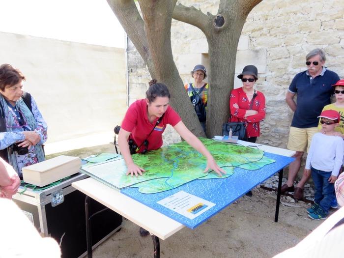 Journées du patrimoine 2018 - Delta Cam : La maquette pédagogique du delta du Rhône