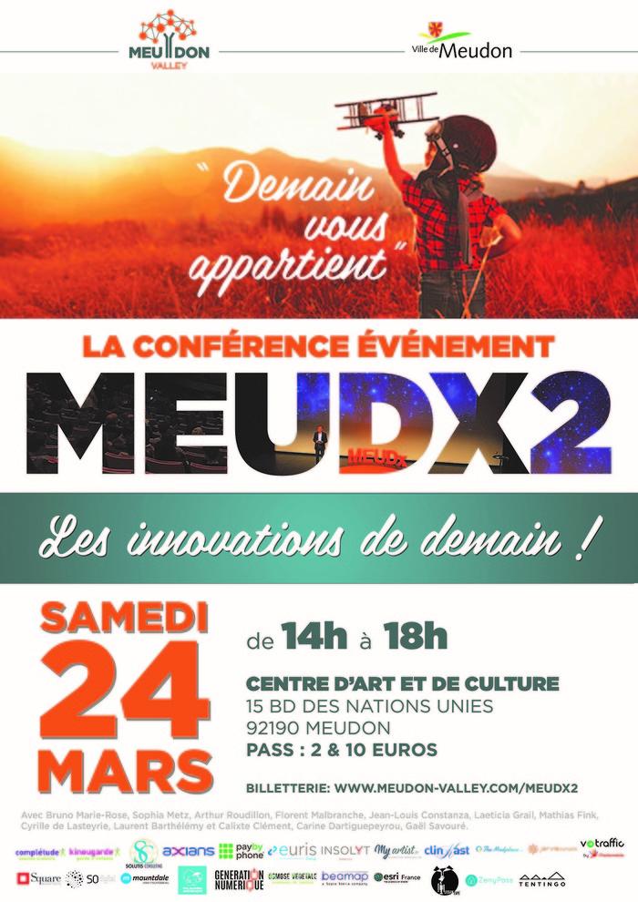 « Demain nous appartient » la conférence évènement MEUDX revient