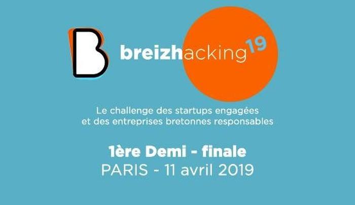 Demi-finale du Breizhacking'19 à la Maison de la Bretagne à Paris