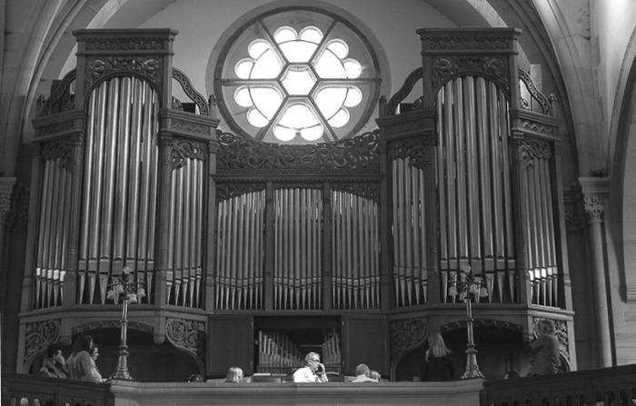 Journées du patrimoine 2018 - Démonstration d'orgue au Temple Neuf