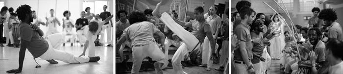 Journées du patrimoine 2018 - Démonstration de capoeira par l'association Cordão de Ouro Ile-de-France.