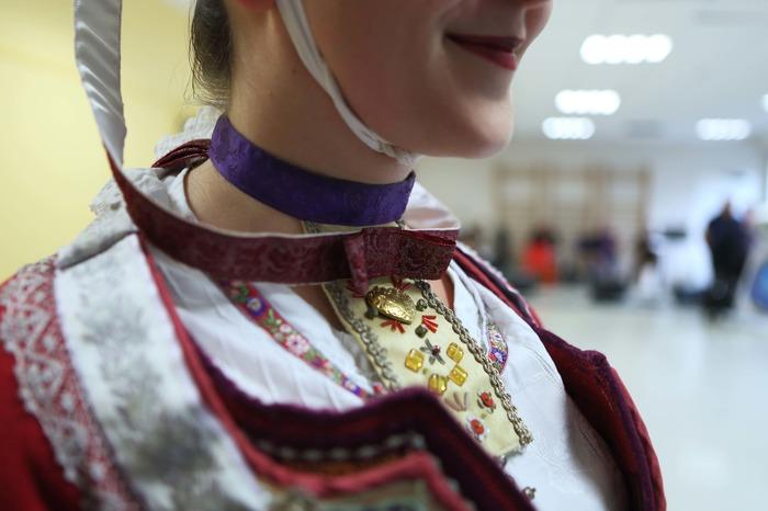 Journées du patrimoine 2018 - Démonstration de costumes traditionnels bretons