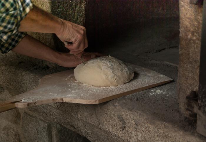 Journées du patrimoine 2018 - Démonstration de cuisson du pain au four des Renaudières