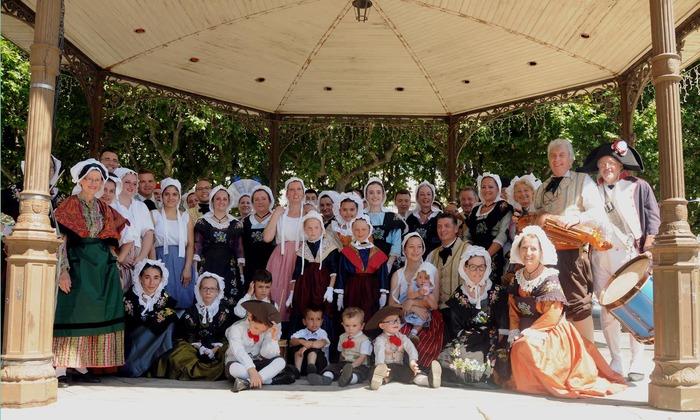 Journées du patrimoine 2018 - Démonstration de danses et musiques traditionnelles.