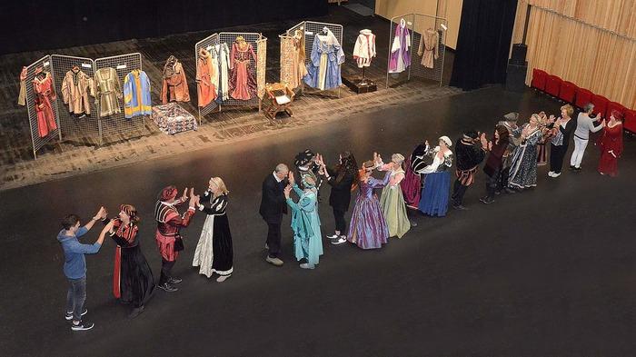Journées du patrimoine 2018 - Démonstration de danses médiévales costumées