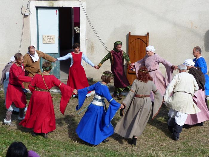 Journées du patrimoine 2018 - Animations autour de la danse médiévale.