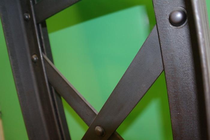 Crédits image : Charpente métallique de type Gustave Eiffel - Photographie : CFA BTP Aube