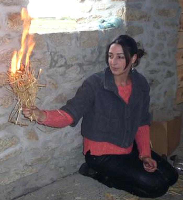 Journées du patrimoine 2018 - Démonstration de feu par percussion