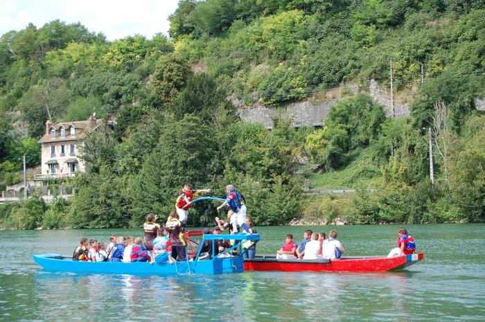 Journées du patrimoine 2018 - Démonstration de joutes nautiques