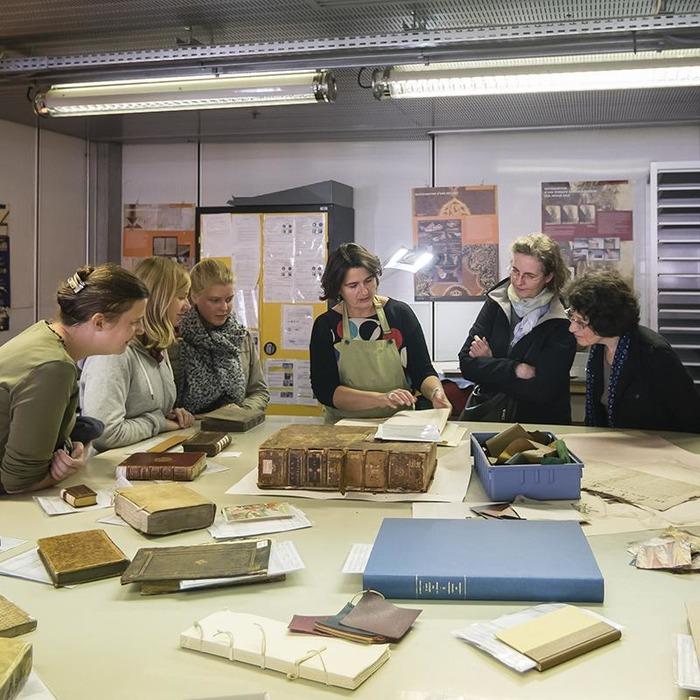 Journées du patrimoine 2018 - Démonstration de l'atelier de restauration de l'Arsenal