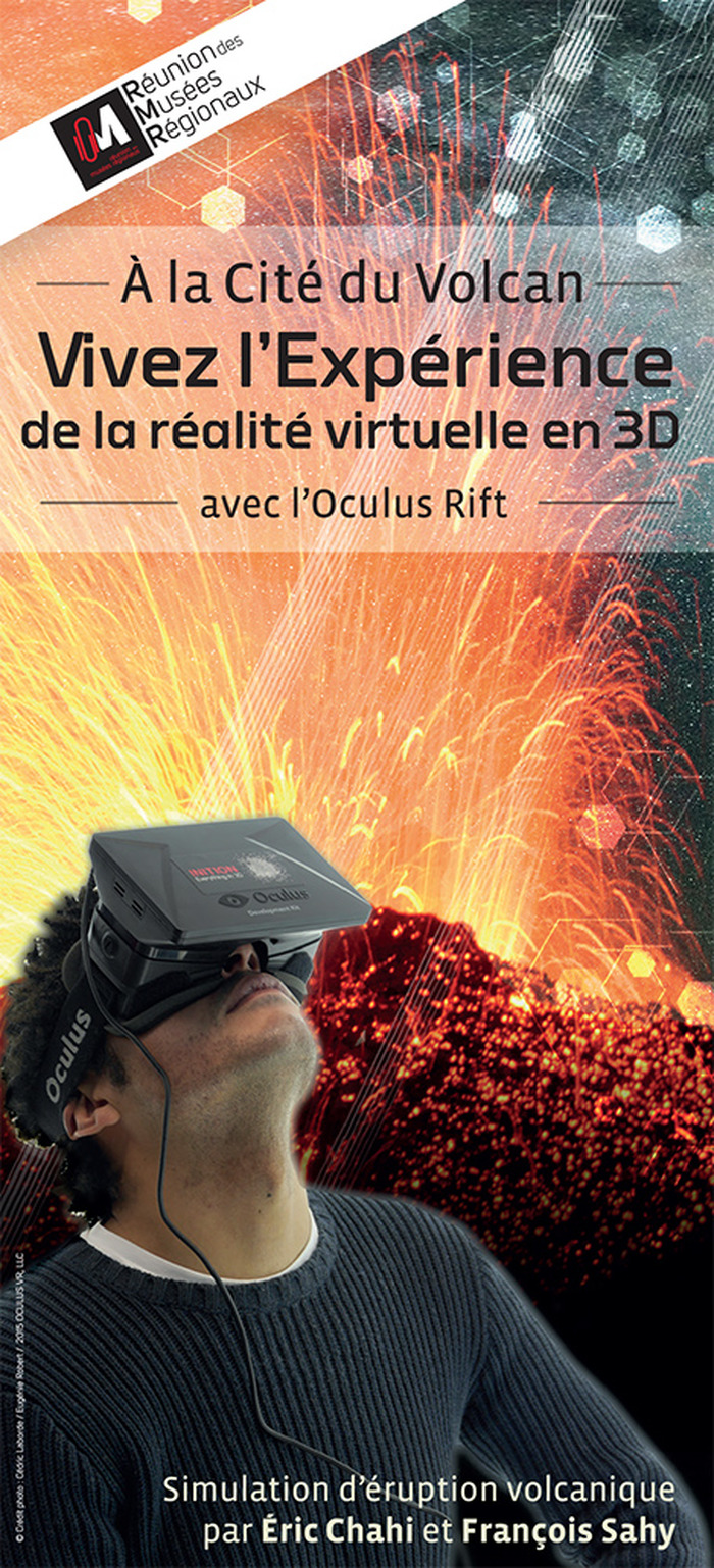 Démonstration du casque de réalité virtuelle