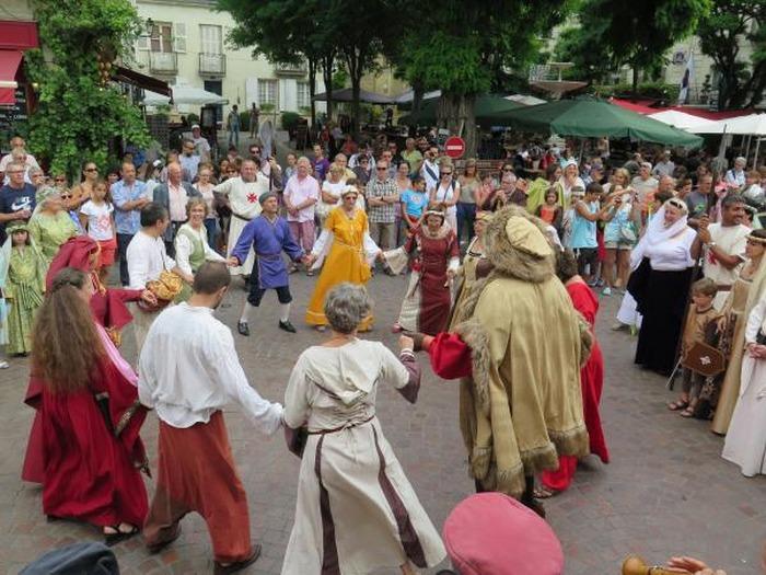 Journées du patrimoine 2018 - Démonstration et initiation aux danses du Moyen Âge et de la Renaissance
