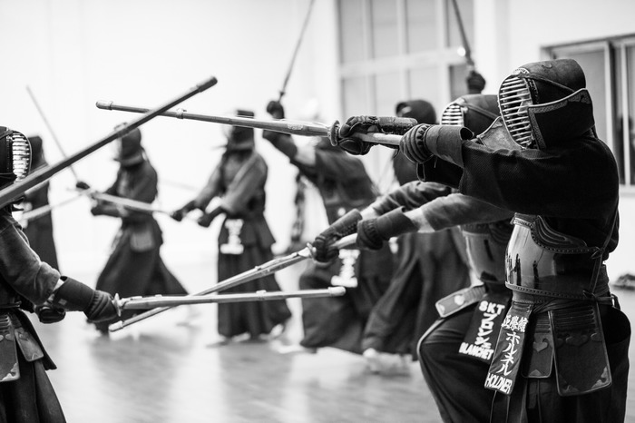 Journées du patrimoine 2018 - Démonstrations de kendo, par le dojo Seigakukan de Toulouse