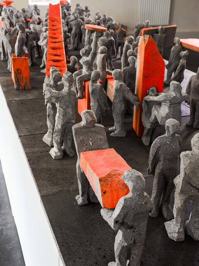 Journées du patrimoine 2018 - Denis Monfleur : les dessous de la sculpture.