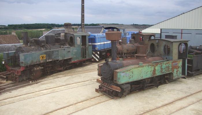 Journées du patrimoine 2018 - Dépôt de locomotives et de matériel ferroviaire à voie étroite