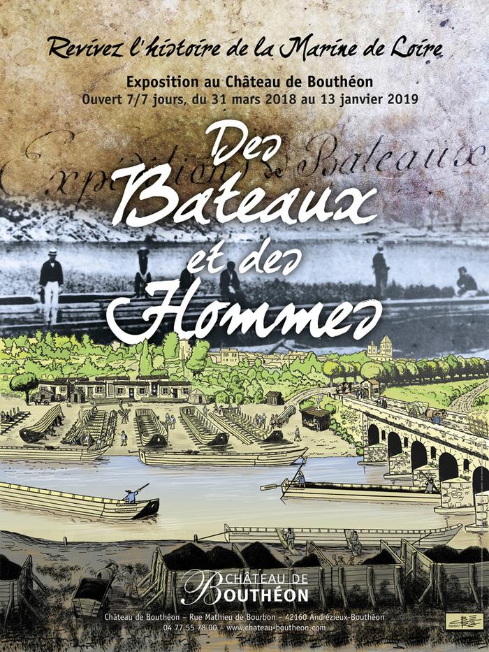 Journées du patrimoine 2018 - Exposition «Des Bateaux et des Hommes».