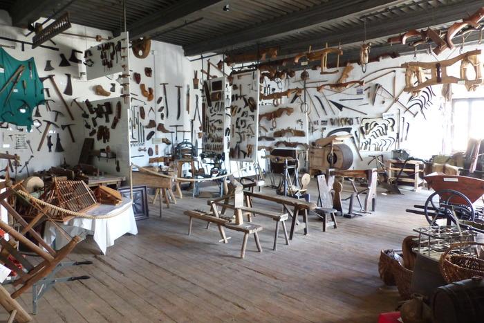 Crédits image : musée des métiers de la pierre