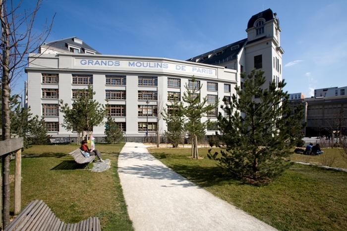 Journées du patrimoine 2018 - Des Grands Moulins de Paris à la bibliothèque universitaire