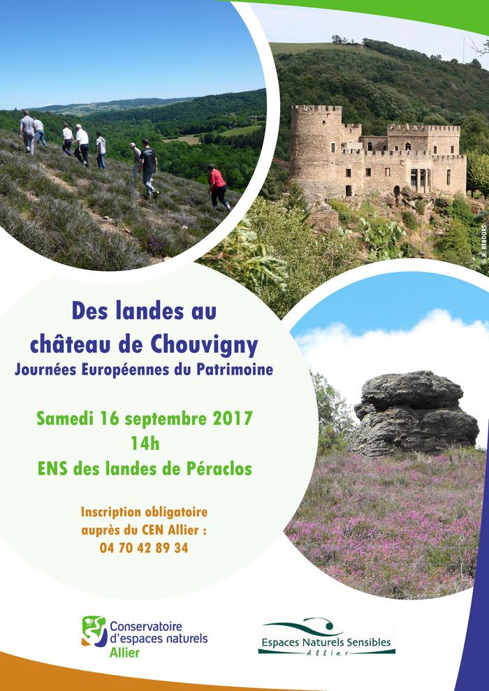 Journées du patrimoine 2017 - Des landes au château de Chouvigny