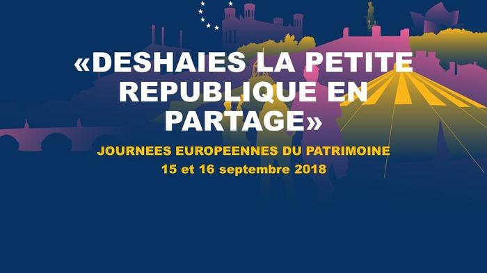 Journées du patrimoine 2018 - DESHAIES, la petite république en partage / Exposition vivante de l'histoire de DESHAIES