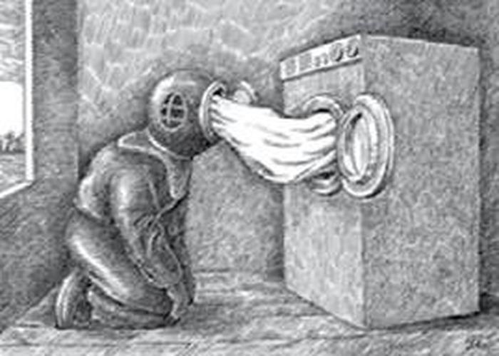 Crédits image : Ji?í Slíva, sans titre, encre de Chine sur papier, 29,7 × 21 cm, 1997, coll. de l'artiste © Ji?í Slíva