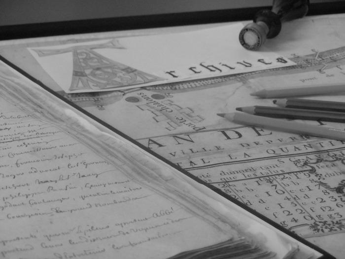 Journées du patrimoine 2018 - Deviens un apprenti archiviste