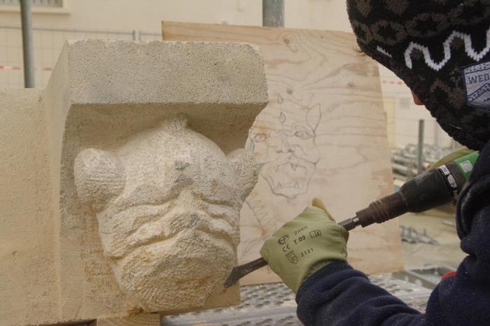 Journées du patrimoine 2018 - Diaporama des travaux de restauration de l'église