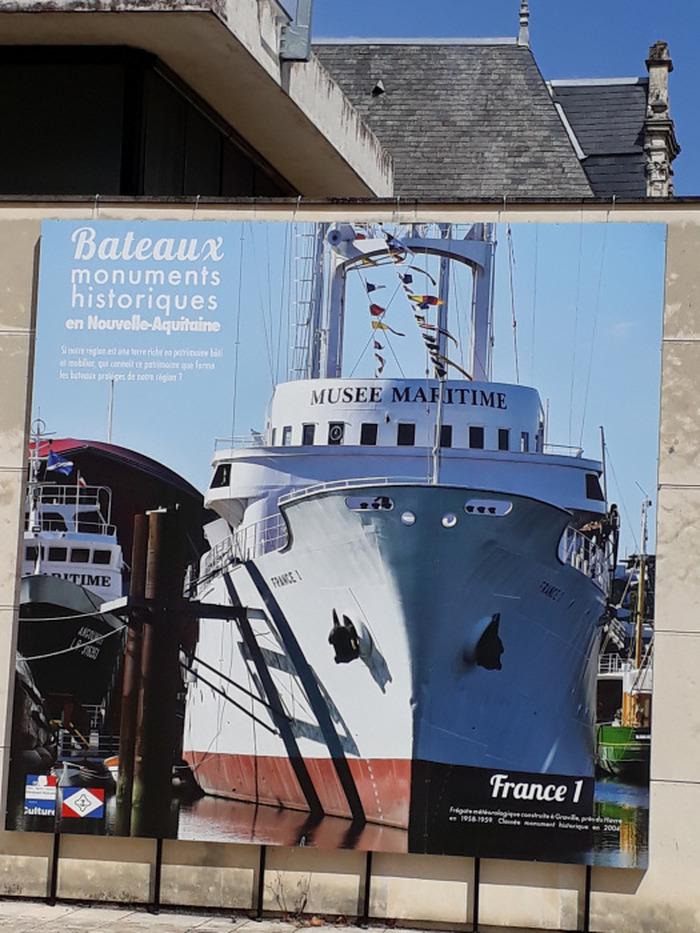 Journées du patrimoine 2018 - Les bateaux historiques en Nouvelle-Aquitaine