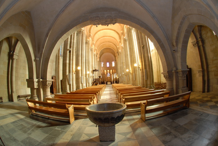 Journées du patrimoine 2018 - Visite nocturne de la cathédrale Saint-Apollinaire.