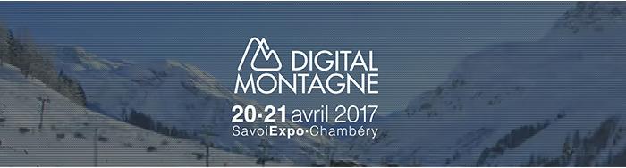 Digital Montagne, les 20 et 21 avril à Chambéry