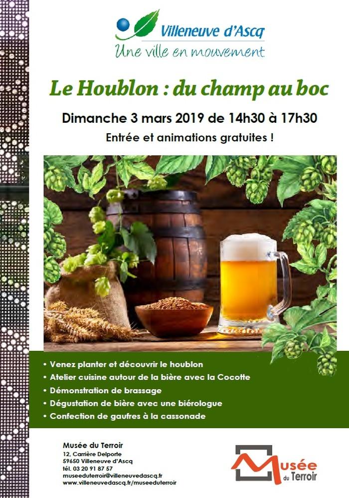 Dimanche au musée du Terroir : le Houblon : du champ au boc