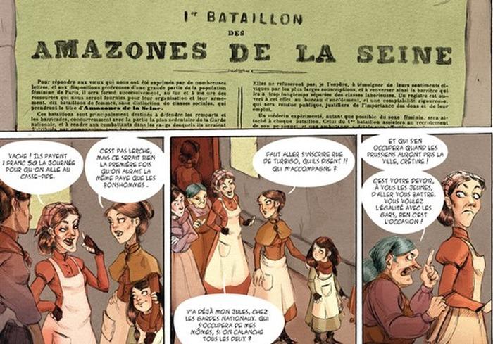 Journées du patrimoine 2017 - Discussion croisée entre Wilfrid Lupano, Lucy Mazel et l'Association des Amies et Amis de la Commune de Paris 1871.